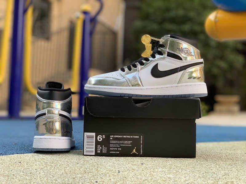Kawhi Leonard's Air Jordan 1 Silver High Think 16 'Pass The ...