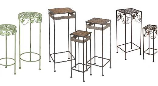 Tuesday Morning Home Decor Bar Table Plant Stand