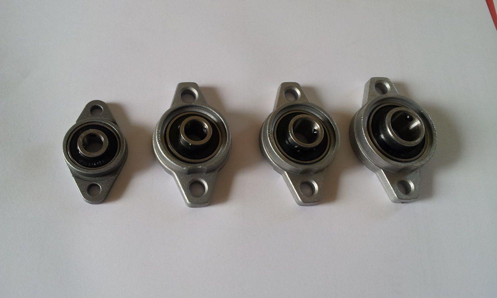 Palier applique à 2 trous ovale ucfl015 axe 15mm paliers