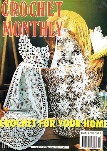 Crochet Monthly 219 Lita Z Lbuns Da Web Do Picasaee
