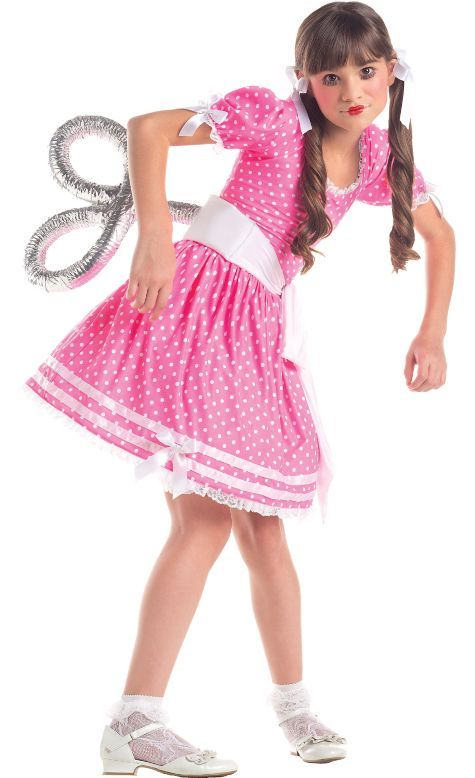 Girls Wind-Up Doll Costume - Party City | Holiday\'s | Pinterest