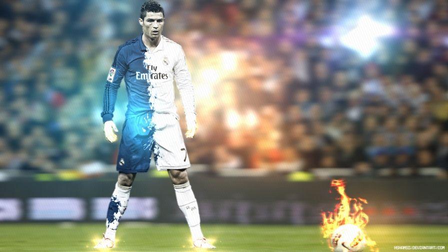 Fire Kick Ready Cristiano Ronaldo Wallpaper Brazillian Football Player Cristiano Ronaldo Wallpapers Cristiano Ronaldo Hd Wallpapers Cristiano Ronaldo