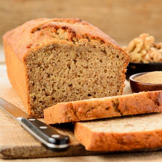 Healthy banana carrot bread
