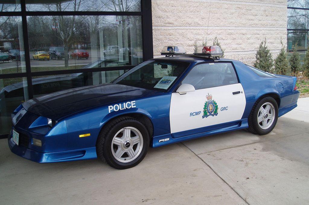 RCMP Camaro Old police cars, Police cars, Emergency vehicles