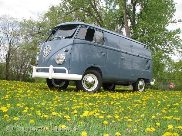 1959 Vw Double Door Van Van Double Doors Vw Van