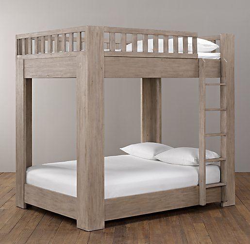 Callum Platform Full Over Full Bunk Bed | All Beds | Restoration Hardware  Baby U0026 Child