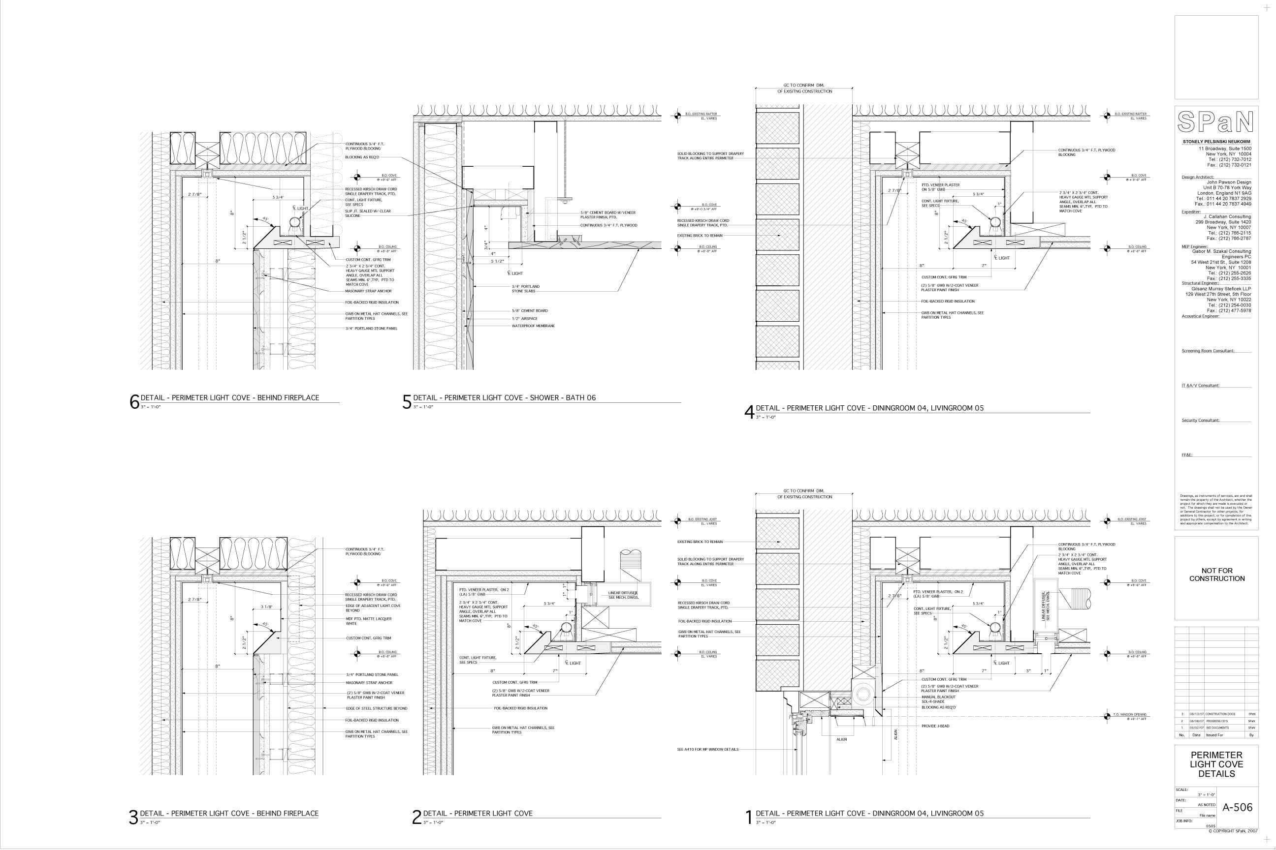 Design Architect John Pawson Architect Of Record Span