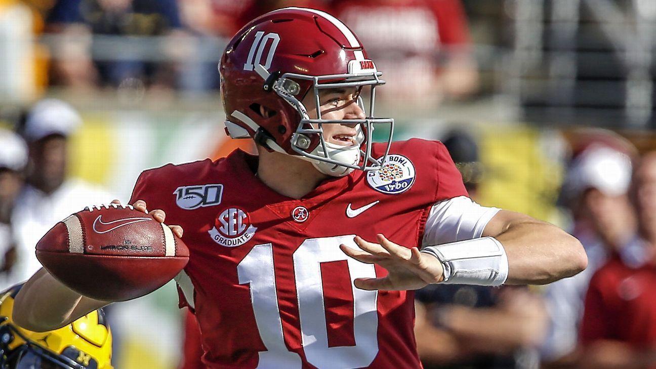 Alabama tops preseason sp college football rankings in