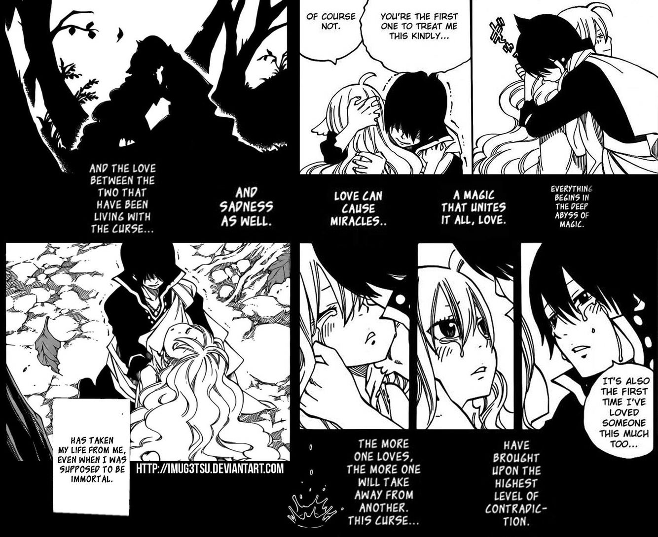 People, see here, THE BEGINNING THE FIRST CANON COUPLE OF FAIRY! And also the end of it... (2 pages later)