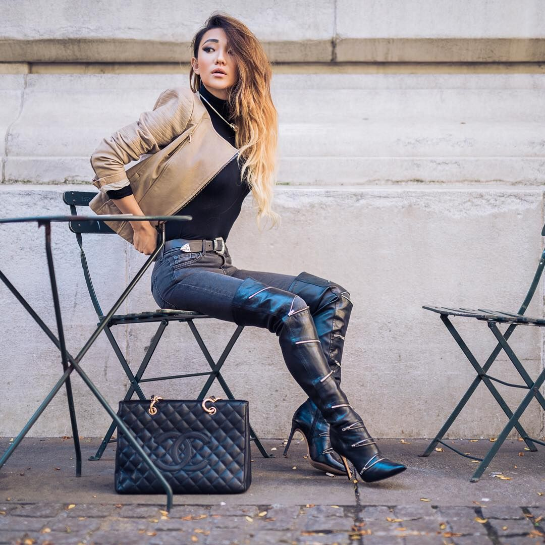 Leather Sexy Boots 28