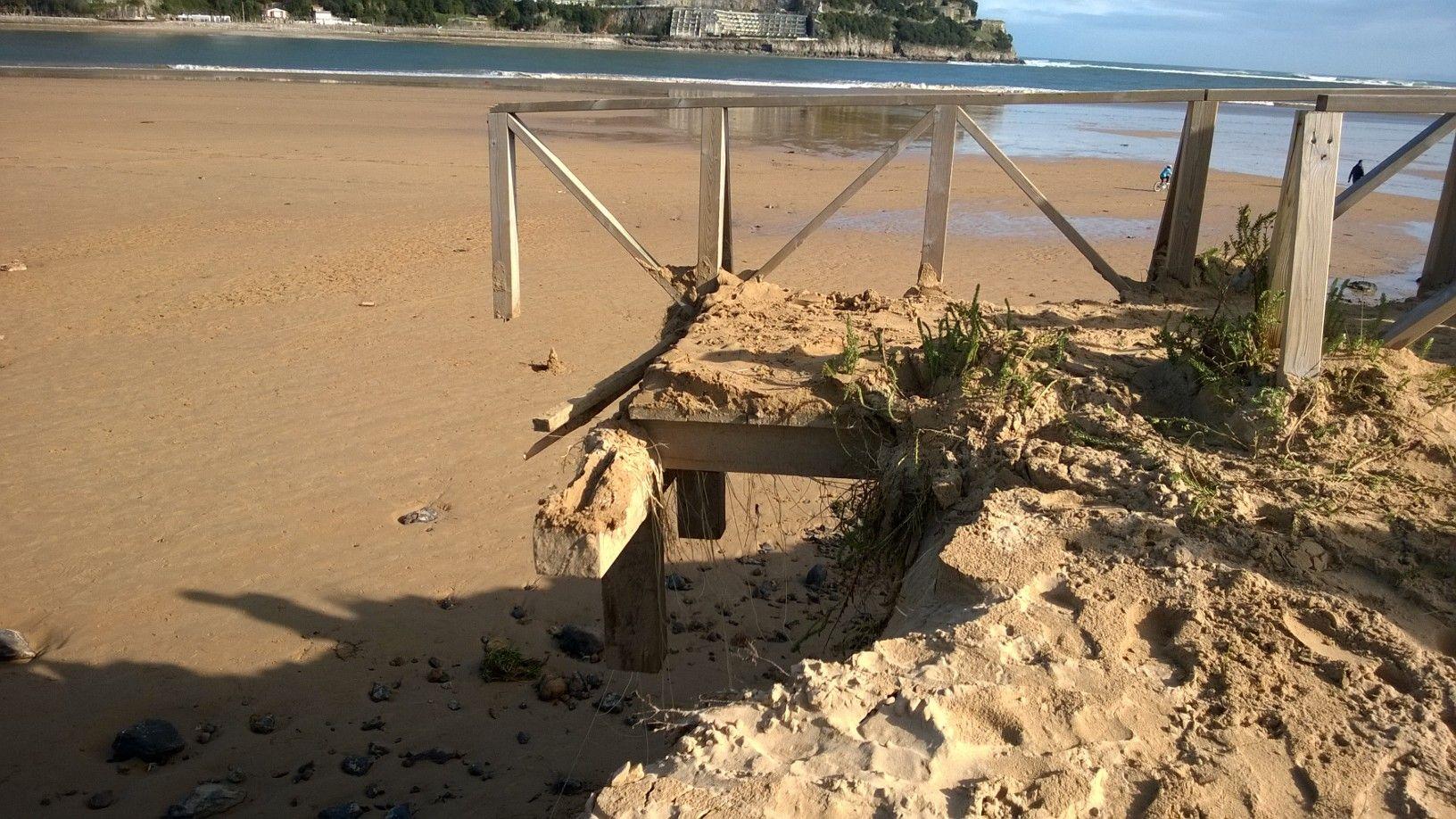 Recopilación: Galerías de los destrozos del 2 de Febrero provocados por la marea