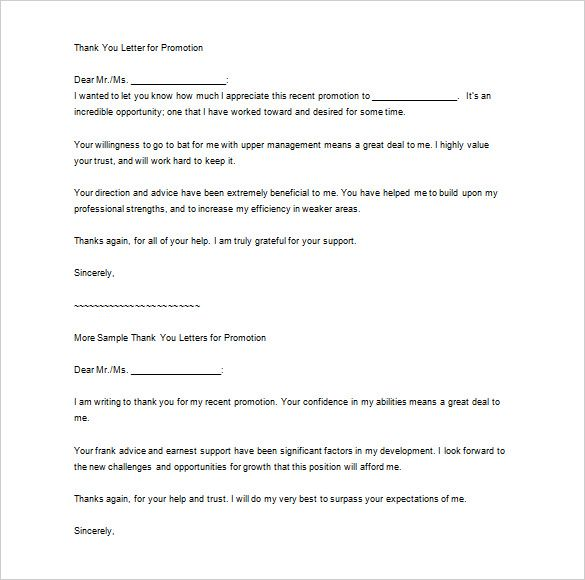 thank you letter boss free word excel pdf format download sample - thank you letter to boss