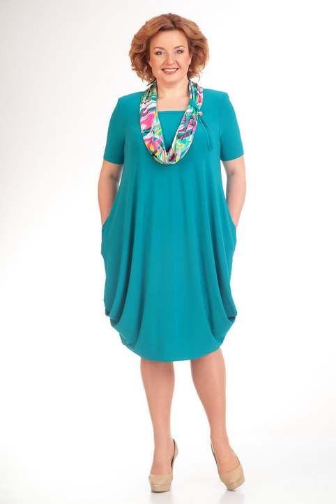 61854316cf5 Платья для полных женщин белорусской компании Milana