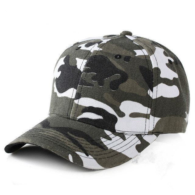Hot Sale Solid Camouflage Baseball Cap For Women Summer Snapback Hat  Headgear Outdoor Anti-UV Visor Love Caps Male Sport Hat 11e4719be6db