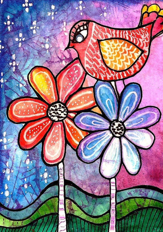 Springtime Painting  - Springtime Fine Art Print