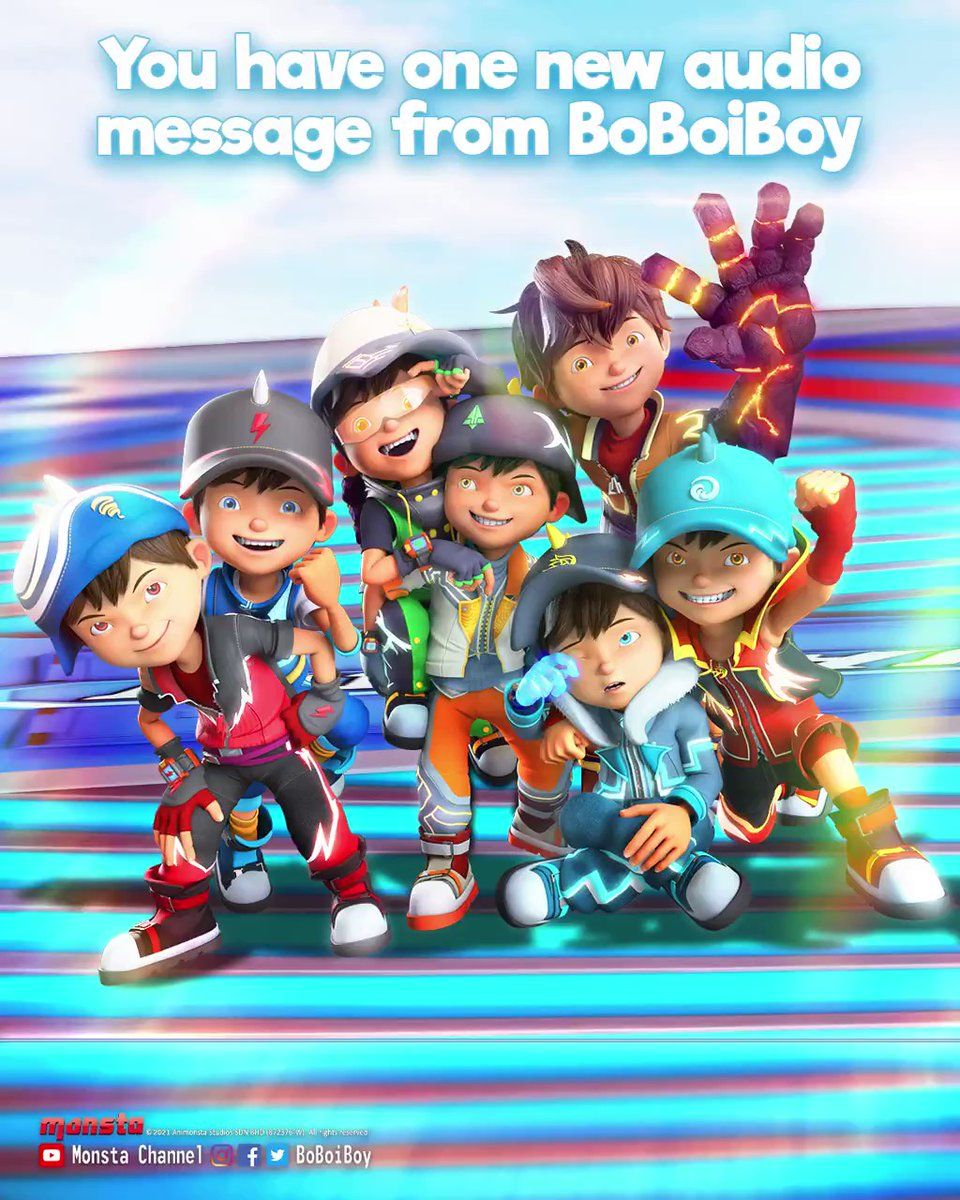 Wallpaper Boboiboy Galaxy Kuasa 7