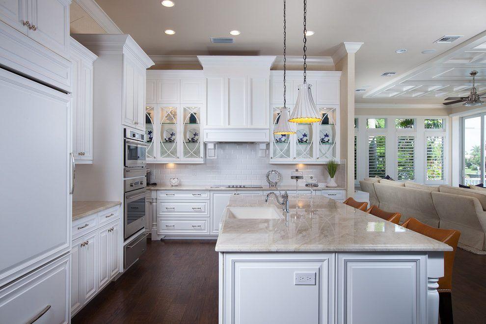 Best Taj Mahal Quartzite Countertop Kitchen Traditional With 400 x 300