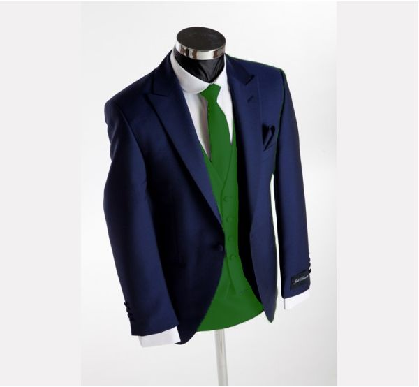 blue suit green tie and vest for wedding | Boys | Pinterest ...