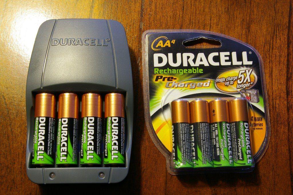 Duracell Aaa Batteries Capacity