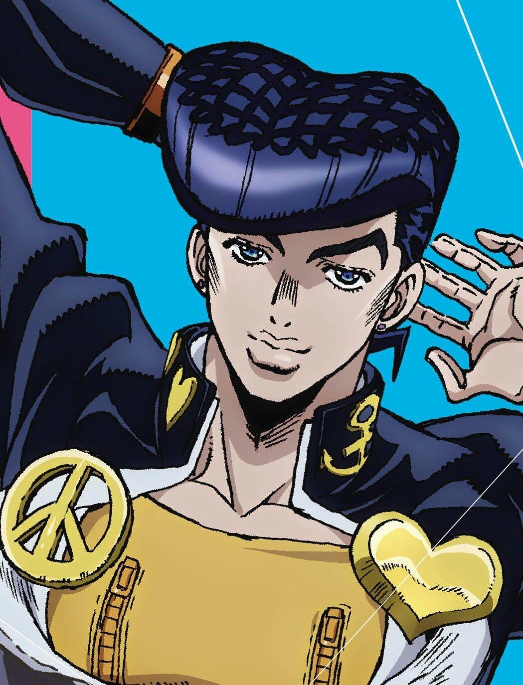 Josuke Higashikata Jojo Anime 90 Anime Jojo Bizarre