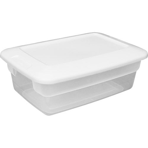 Sterilite 12 Quart Storage Box White Set Of 15 00073149184382 They Make A Functional Solution For Everything From Sterilite Storage Box Plastic Box Storage