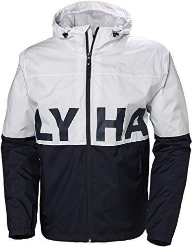 Photo of Buy Helly Hansen Men's Amaze Waterproof outdoor Rain Jacket  Hood, White, X-Large online – Topfashionoutfits