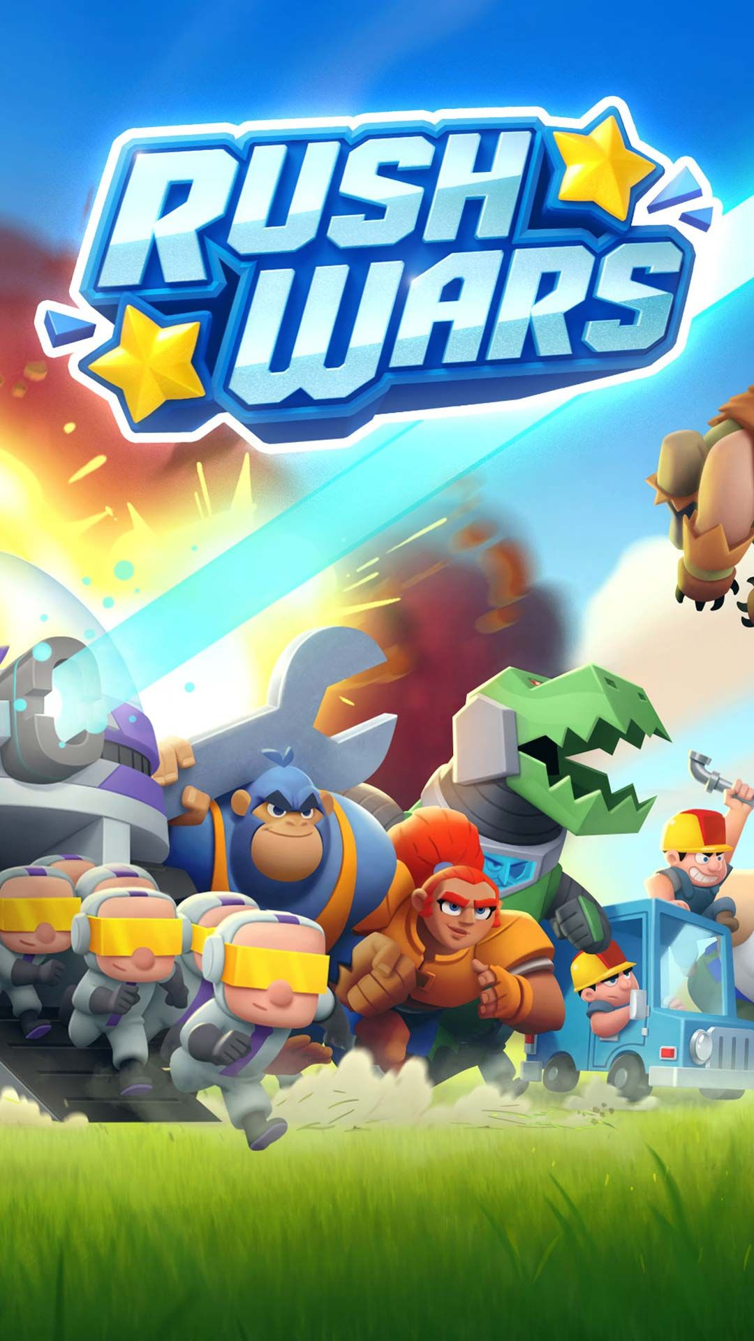 Rush Wars apk for android phone tablet download new
