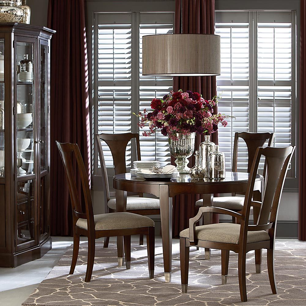 Cosmopolitan Round Dining Table Round Dining Table Dining Room