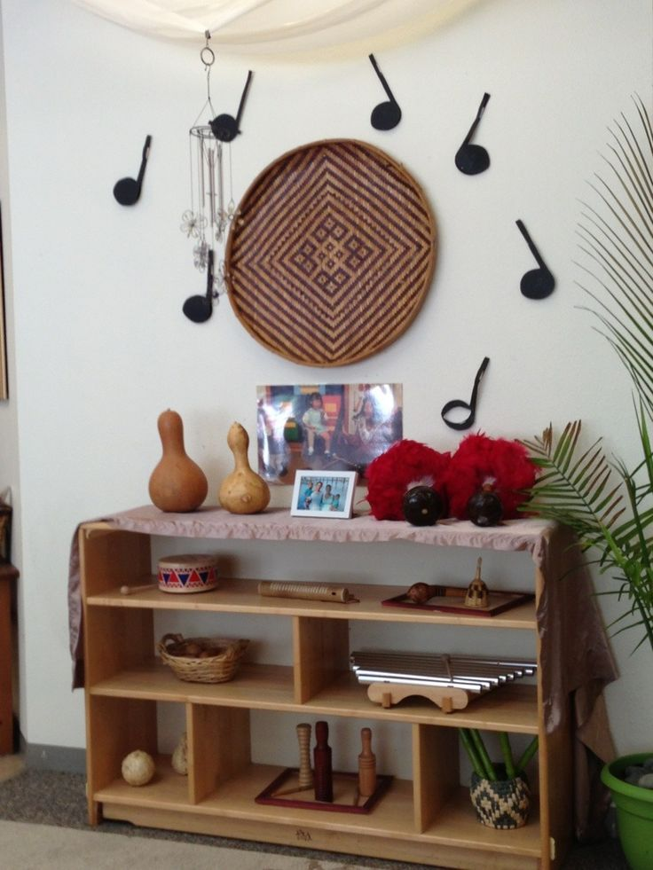 Reggio Inspired Music And Movement Area For Toddlers