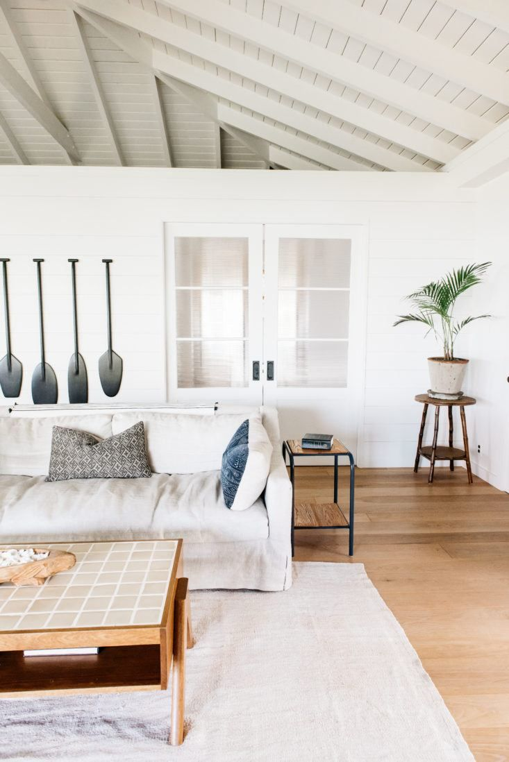 creating a casual summer home with just paint inspiration living