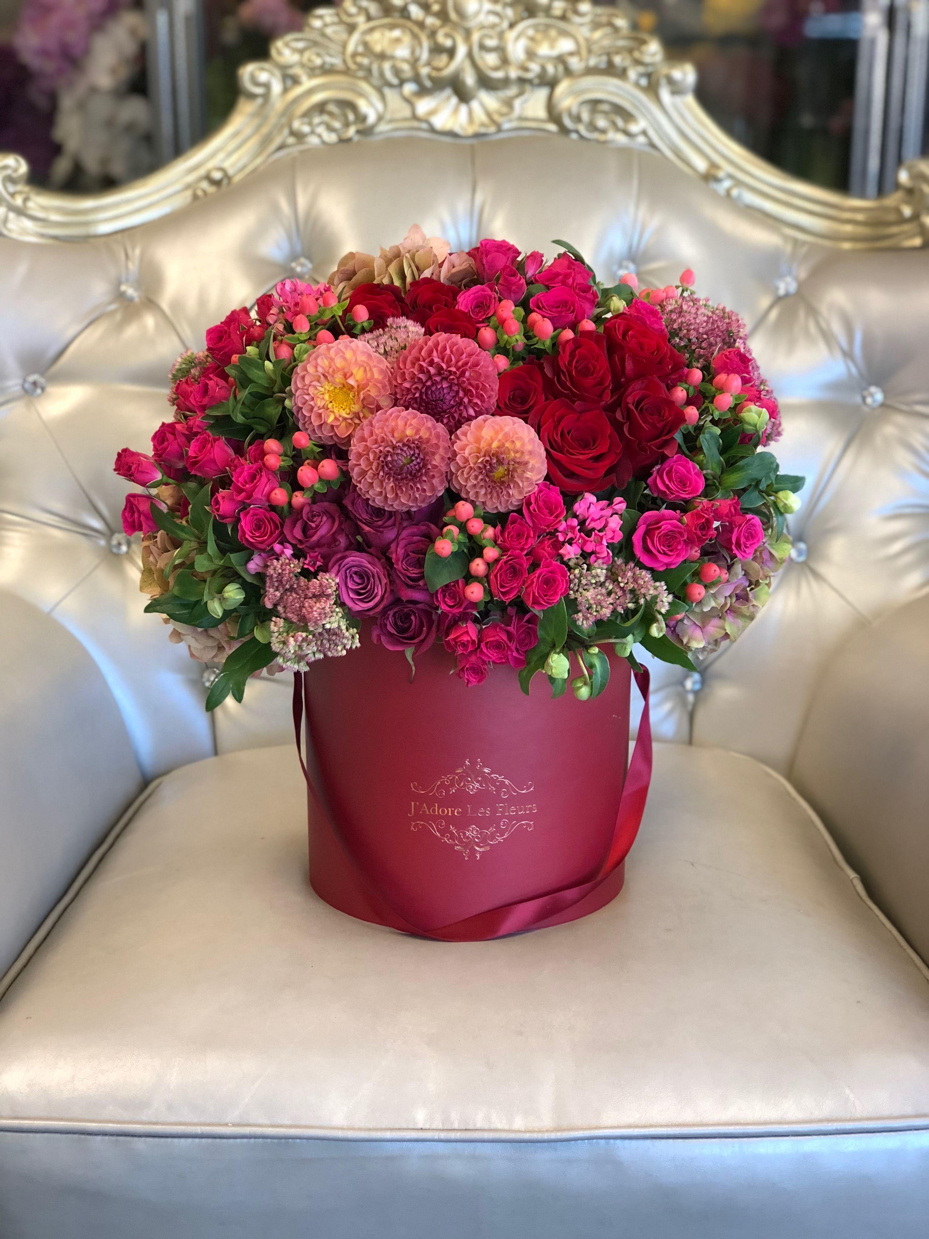 Fall In Reds JLF Flowers Florist Flowerdelivery