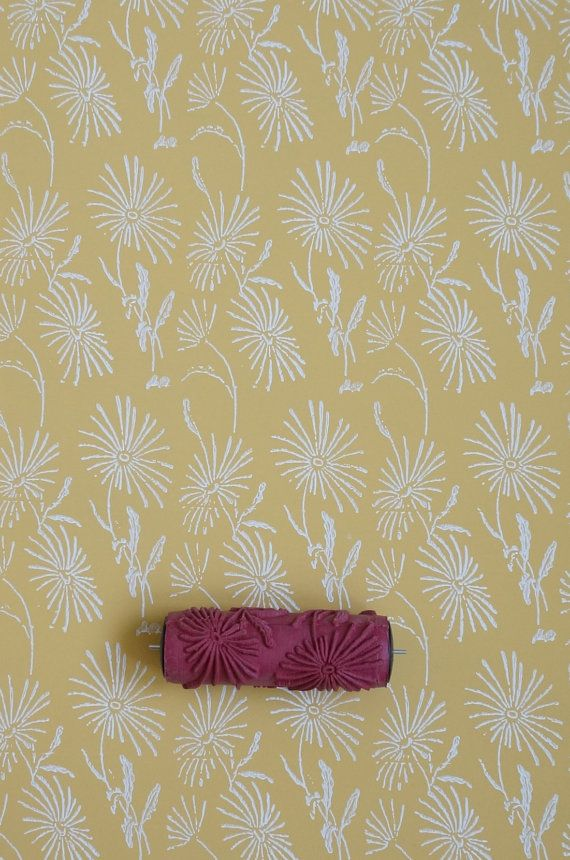 Patterned Paint Roller No 7 from Paint & Courage | handy