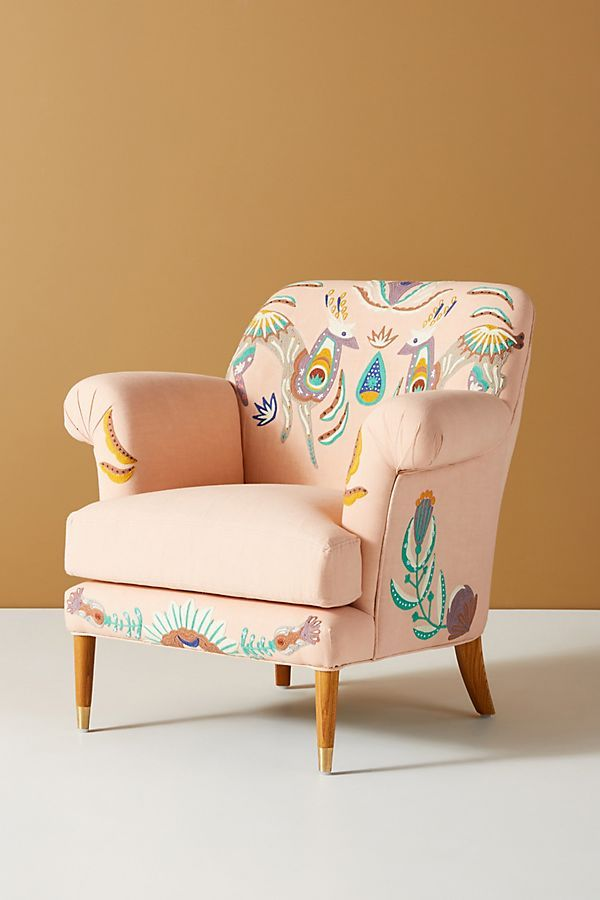 Best Aura Armchair By Anthropologie In Blue Size All Chairs 400 x 300