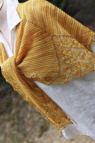 Designs by Romi Elektra Lace Shawl Knitting Pattern