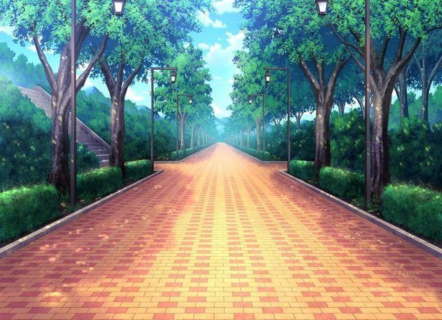Public Park Anime Background Anime Places Anime Scenery