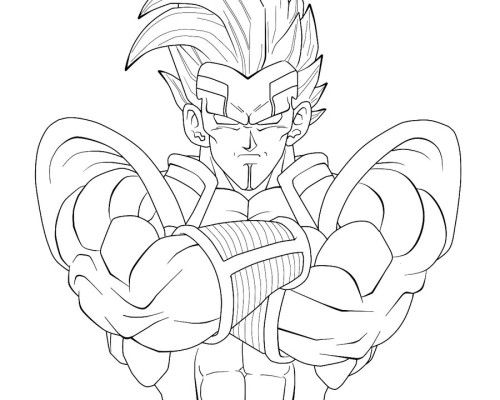 dragon ball gt coloring pages # 5