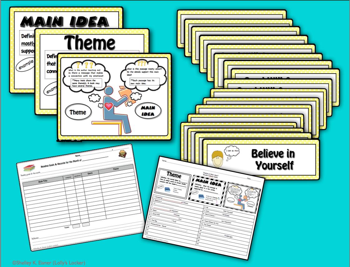 Theme Or Main Idea