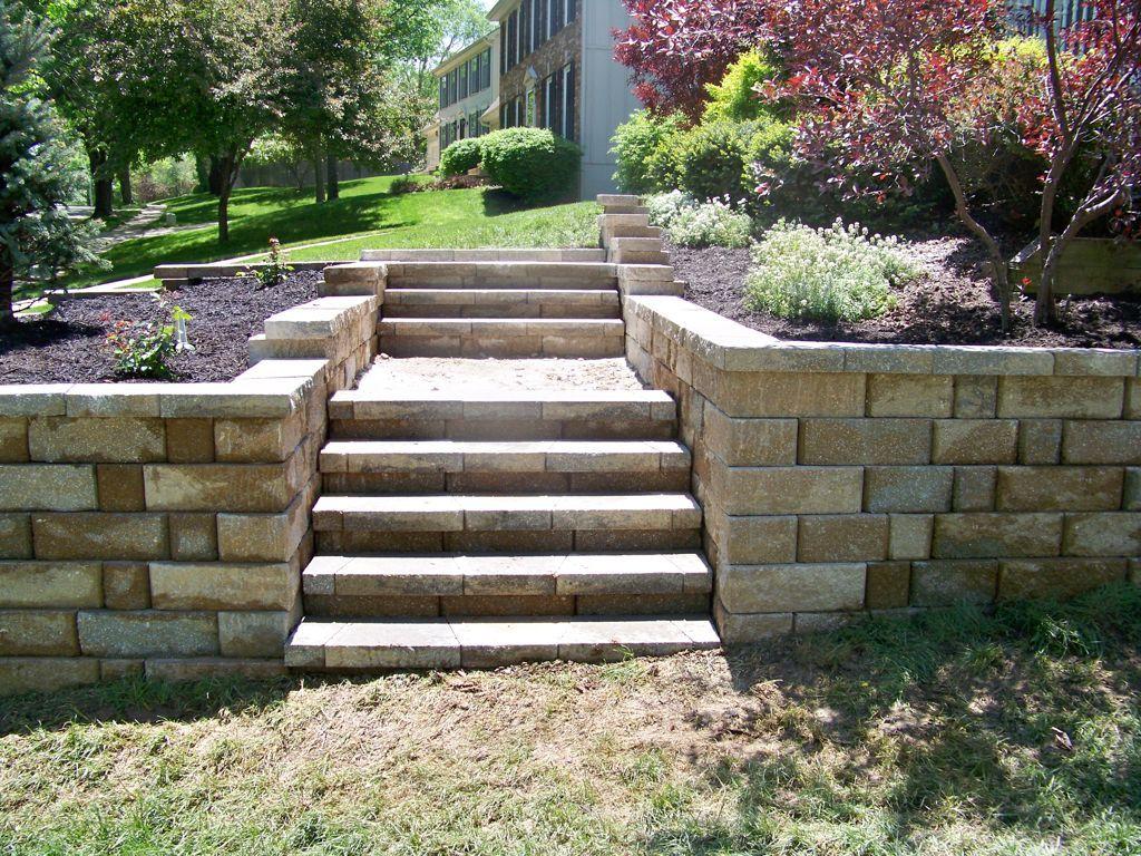 Exterior Marvelous Building Garden Landscape Steps Ideas Made From
