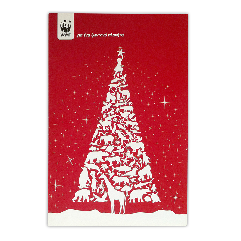 Christmas cards|wwf.gr Christmas cards inspired by nature Envelopes ...