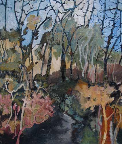 Reflective Lg Jpg 424 500 Contemporary Landscapes Art Abstract Landscape Painting Australian Art