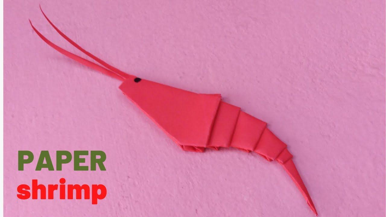 Photo of How to Make a Origami Paper Shrimp |Easy Paper Crafts| Origami Tutorials | DIY paper crafts