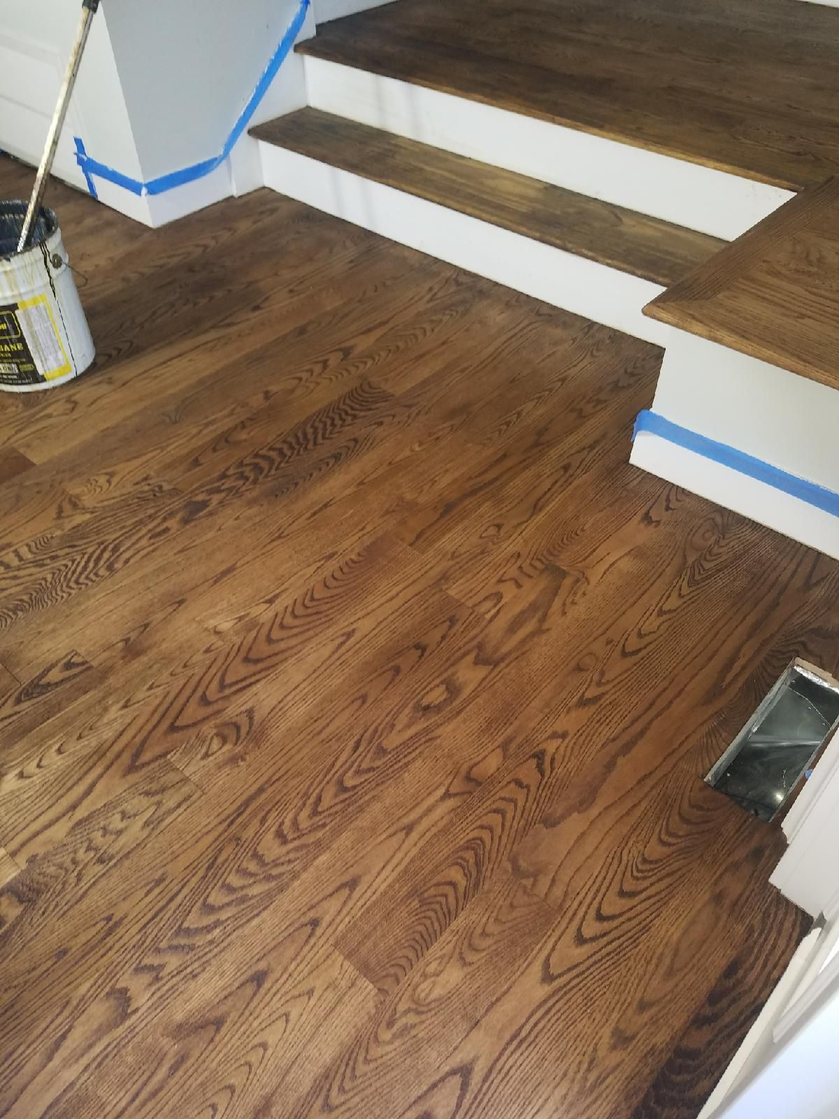 Provincial stain red oak floors  Hardwood in 2019