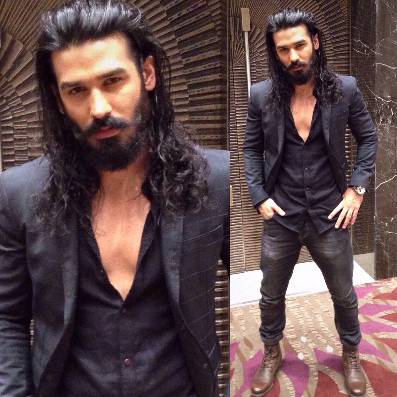It's All About the Hair — Nitin Chauhan Homme