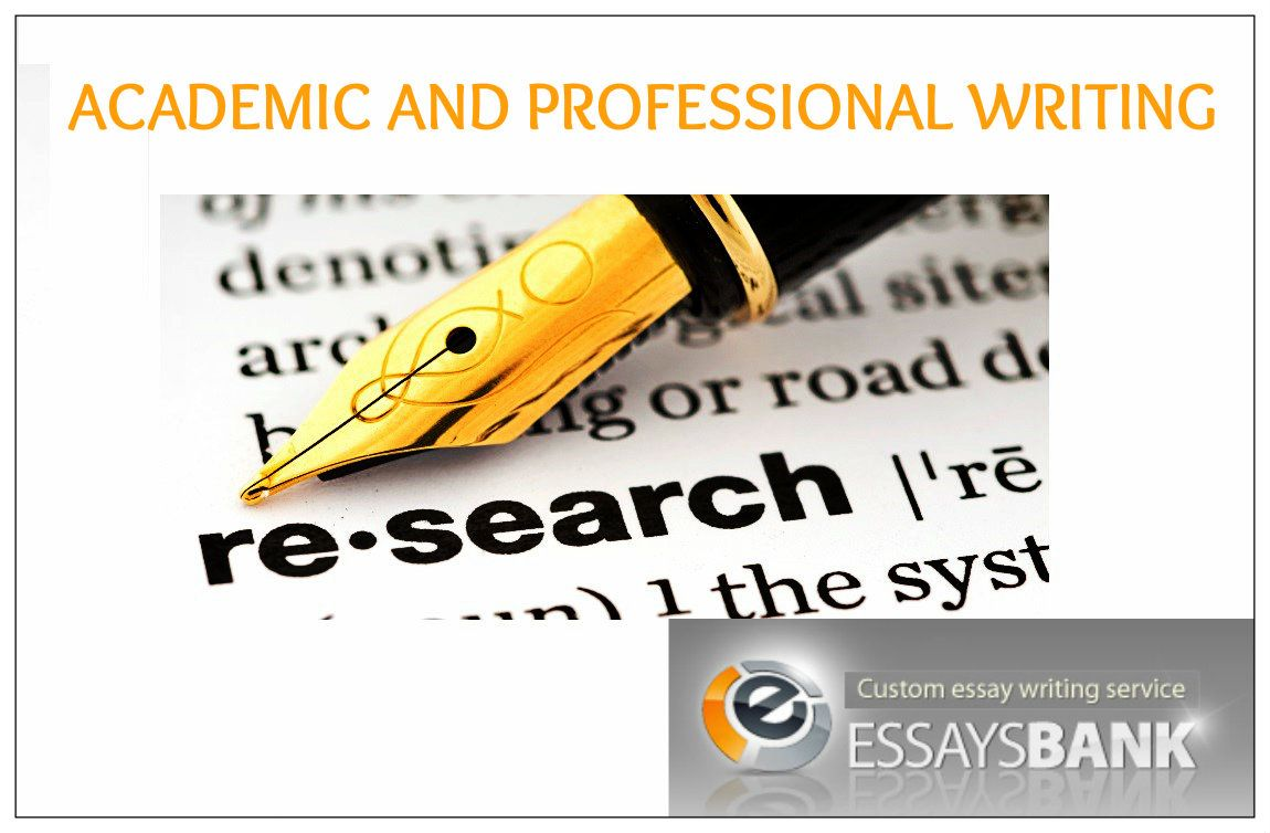 Getting a research paper written professionally