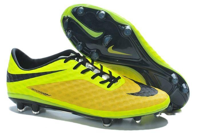 best service d59b6 2b33d Nike Hypervenom Phantom FG Yellow Black Volt