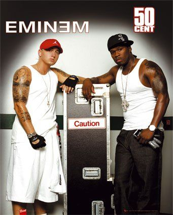 50 Cent In Da Club Mtv Version Eminem Y 50cent 50 Cent And Eminem Eminem Eminem Rap