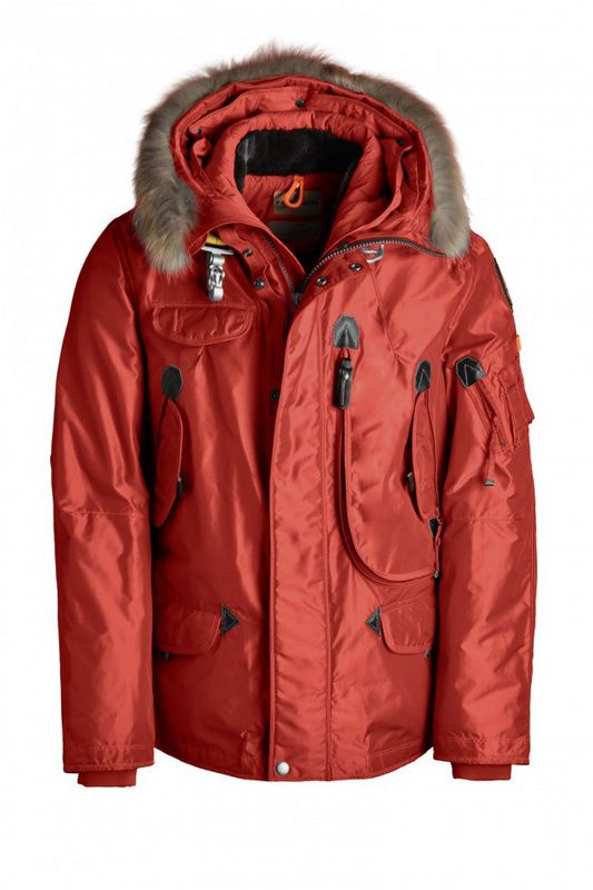 972f294a9 Customize Your Own Parajumpers Right Hand Parka Mens Red ...
