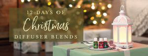 12 days of Christmas diffuser blends #winterdiffuserblends
