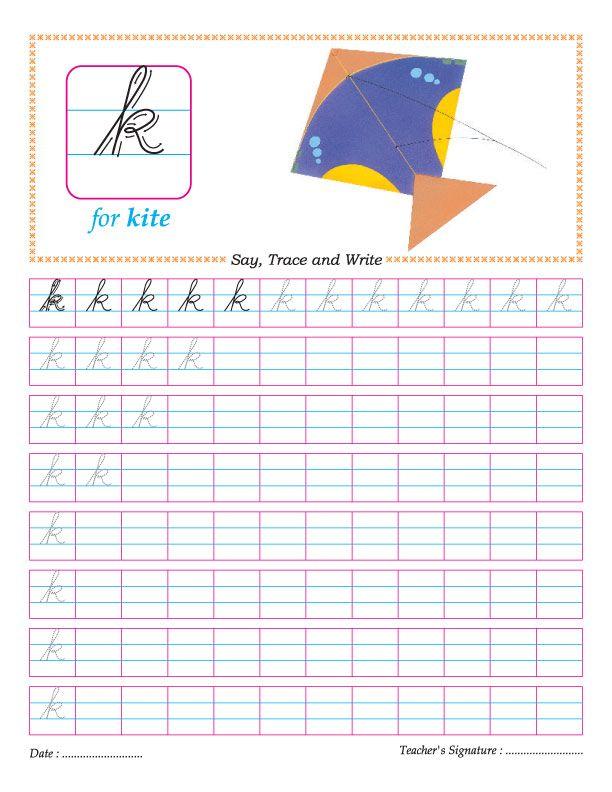 cursive small letter k practice worksheet cursive cursive small letters cursive worksheets. Black Bedroom Furniture Sets. Home Design Ideas