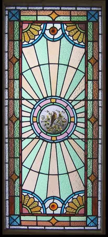 Antique Stained Glass Windows Circa 1890 Stain Glass